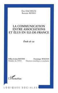 La communication entre associations et élus en Ile-de-France