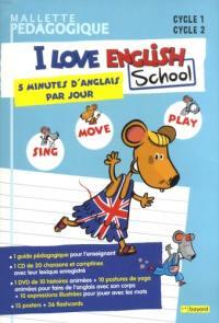 I love English school, cycle 1, cycle 2