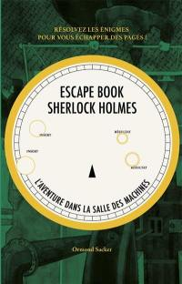 L'escape book Sherlock Holmes, L'aventure dans la salle des machines