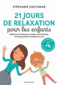 30 jours de relaxation avec mon enfant