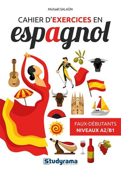 Cahier d'exercices en espagnol
