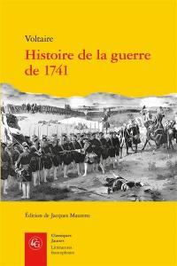 Histoire de la guerre de 1741