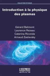 Introduction à la physique des plasmas