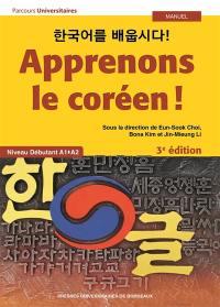 Apprenons le coréen !
