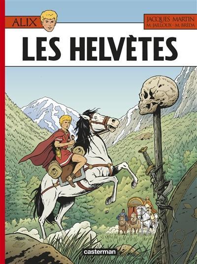 Les aventures d'Alix. Volume 38, Les Helvètes
