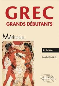 Grec grands débutants