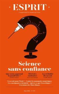 Esprit. n° 472, Science sans confiance
