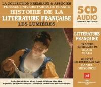 Histoire de la littérature française. Volume 4, Les Lumières