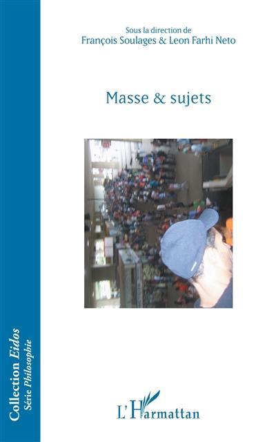 Masse & sujets