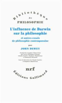 L'influence de Darwin sur la philosophie