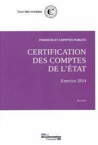 Certification des comptes de l'Etat