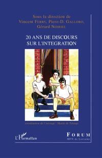 20 ans de discours sur l'intégration