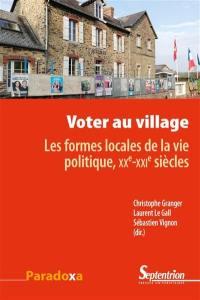 Voter au village
