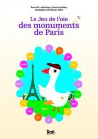 Jeu de l'oie des monuments de Paris