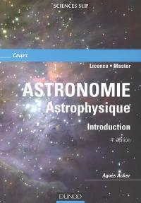 Astronomie, astrophysique