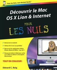 Découvrir le Mac, OS X Lion & Internet pour les nuls