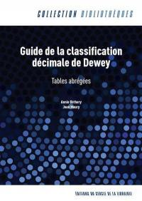 Guide de la classification décimale de Dewey
