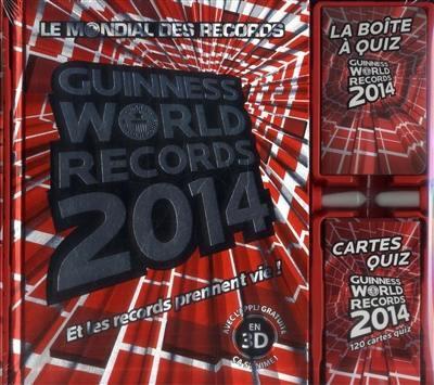 Coffret Guinness world records 2014