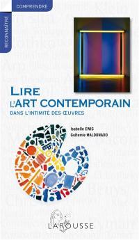 Lire l'art contemporain