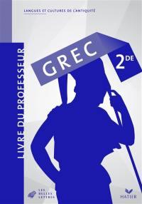 Grec 2de : livre du professeur