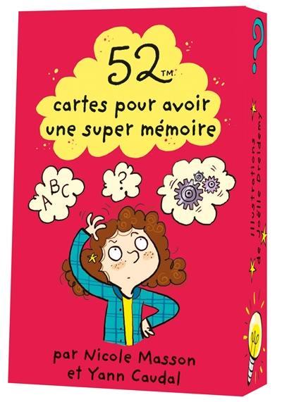 52 cartes pour avoir une super mémoire !