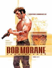 Bob Morane : renaissance, n° 1-2, Fourreau Bob Morane