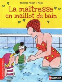 La maîtresse en maillot de bain