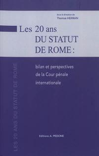 Les 20 ans du Statut de Rome