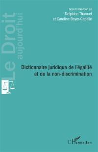 Dictionnaire juridique de l'égalité et de la non-discrimination