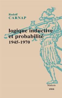Logique inductive et probabilité