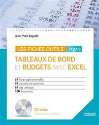 Tableaux de bord et budgets avec Excel