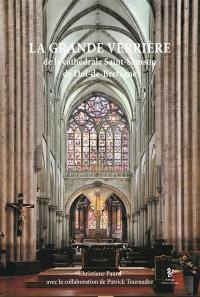 La grande verrière de la cathédrale Saint-Samson de Dol-de-Bretagne