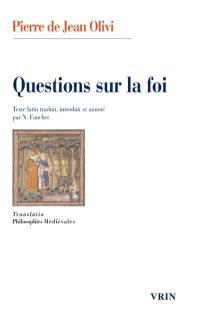 Questions sur la foi