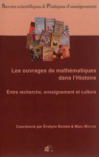 Les ouvrages de mathématiques dans l'histoire