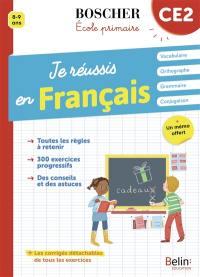 Je réussis en français, CE2, 8-9 ans