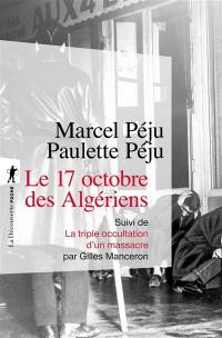 Le 17 octobre des Algériens.