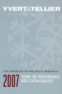 Tome de référence des catalogues 2007