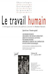 Travail humain (Le). n° 1 (2017), Special issue