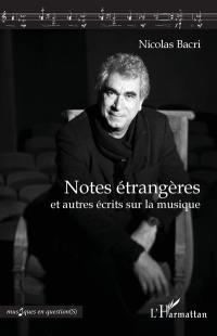Notes étrangères