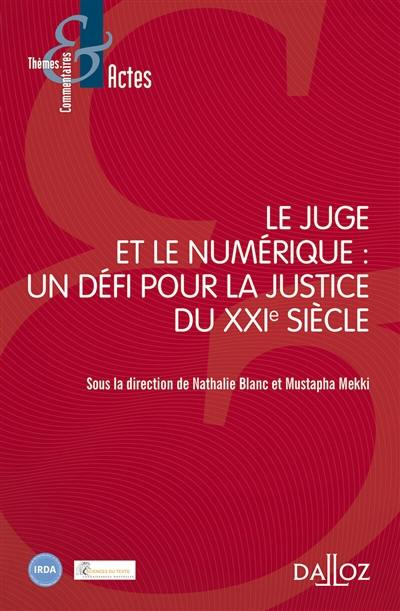 Le juge et le numérique