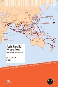 Revue européenne des migrations internationales-REMI. n° 35-1&2, Asia Pacific migration