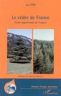 Le cèdre de France