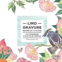Linogravure, inspirée de la nature
