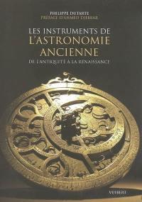 Les instruments de l'astronomie ancienne