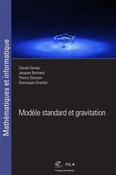 Modèle standard et gravitation