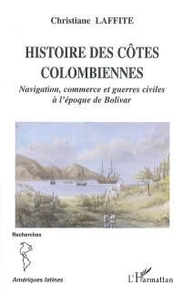 Histoire des côtes colombiennes