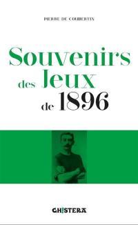 Souvenirs des Jeux de 1896
