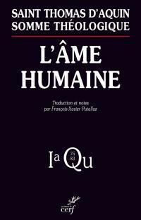 Somme théologique, L'âme humaine