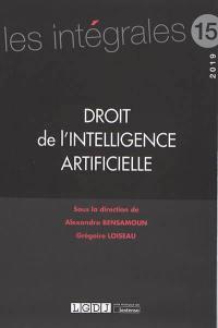 Droit de l'intelligence artificielle