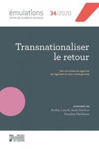 Emulations. n° 34, Transnationaliser le retour